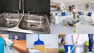 Daily cleaning work and cleaning routine |List of work to do daily|My daily work routine