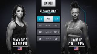 FREE FIGHT | Barber Dominates to Earn UFC Contract | DWTNCS Week 5 Contract Winner - Season 2