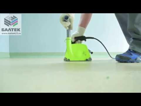 Укладка резинового покрытия. Монтаж рулонного резинового покрытия для тренажерных заловиз YouTube · Длительность: 3 мин58 с