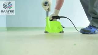 видео Антистатический линолеум и токопроводящий клей: цена и укладка медной ленты