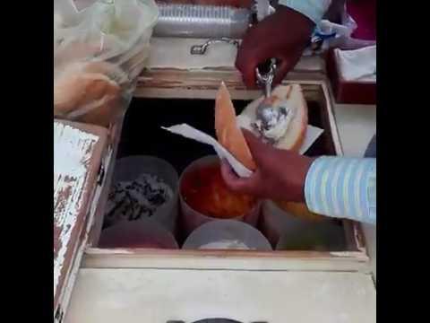 "Viralizan a vendedor de helados por su peculiar ""Torta de Helado"" 100% mexicana"
