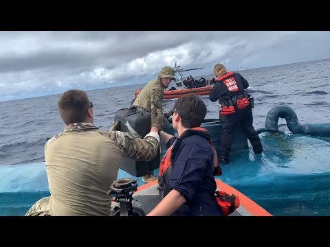 Cocaine Transfer From Smuggling Semi-Submersible