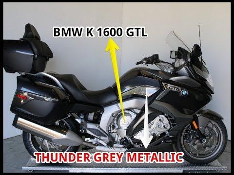 2018 bmw gtl.  bmw 2018 bmw k 1600 gtl thunder grey metallic in bmw gtl