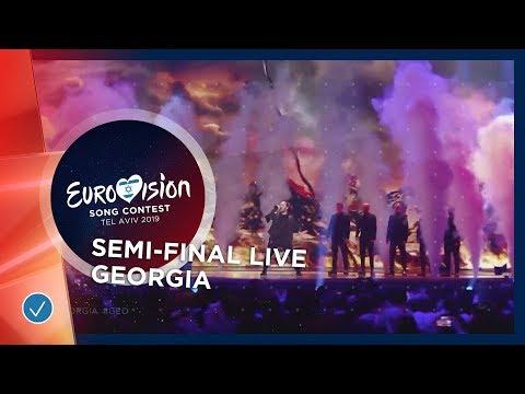 Georgia - LIVE - Oto Nemsadze - Keep On Going - First Semi-Final - Eurovision 2019