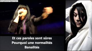 Jena lee banalité (paroles)