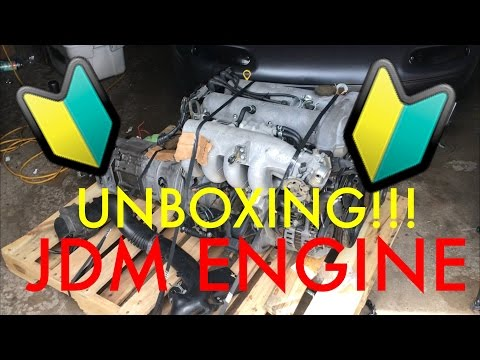 UNBOXING IMPORTED JDM ENGINE 1.6L For Miata