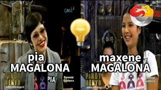 Pinoy Henyo: Pia Magalona and Maxene Magalona