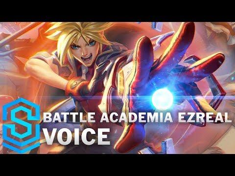 Voice - Battle Academia Ezreal [SUBBED] - English