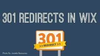 Setting Up and Learning 301 Redirects in Wix - Wix SEO Tutorial 2018