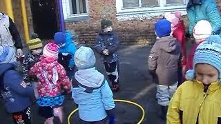 Занятие в средней группе детского сада