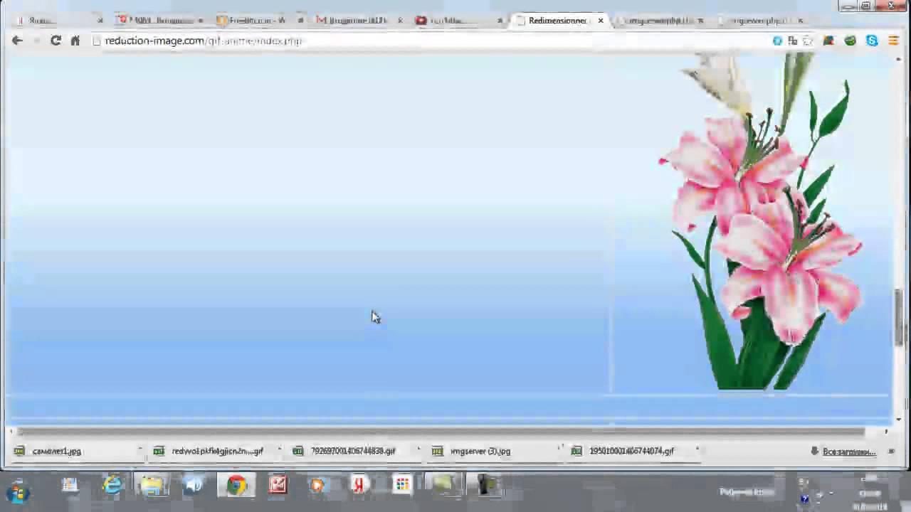 Прикольные, уменьшить картинку без потери анимации онлайн