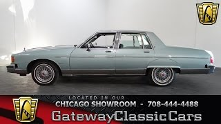 1981 Pontiac Bonneville Brougham Gateway Classic Cars Chicago #1148