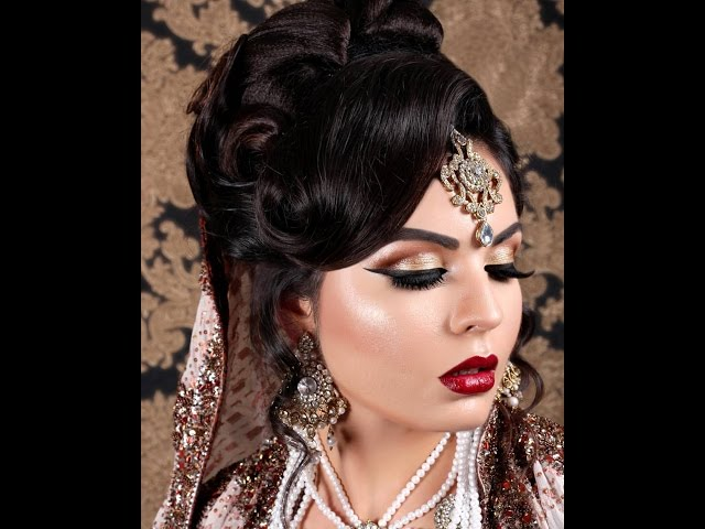 Asian Indian Pakistani Bridal look Modern Hair style – Saloni Health & Beauty Supply – THE UNCOMMON BEAUTY