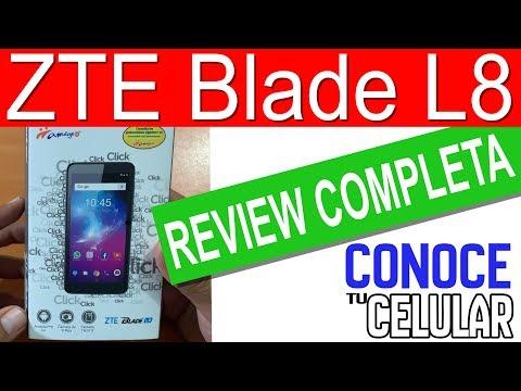 ZTE Blade L8 Review Completa!!!