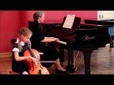 Катя Кинасова  А Вивальди  Концерт для виолончели ля минор