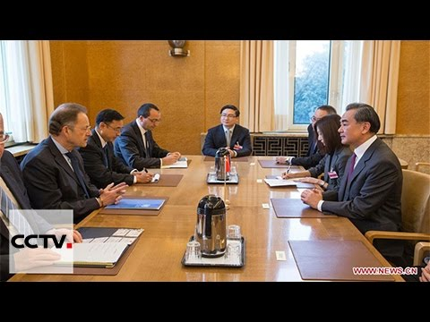 Chinese FM calls for China and Switzerland to defend global free trade