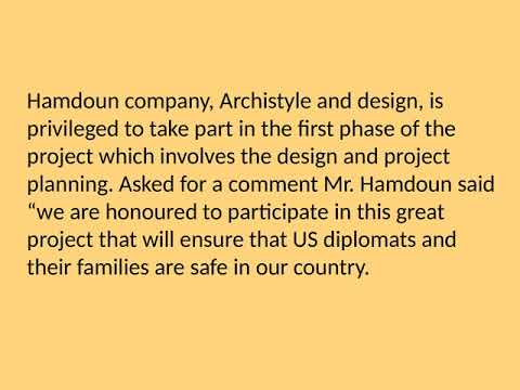 Mohamed Hamdoun  Consultant and Architect From Lebanon