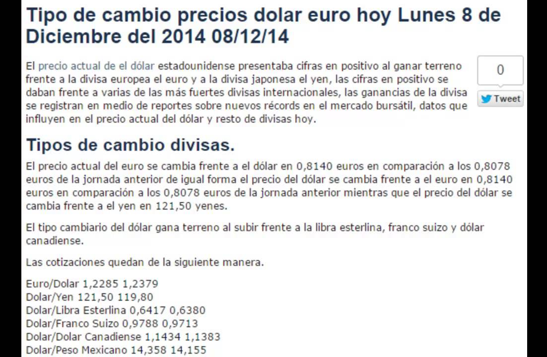 Tipo De Cambio Precio Del Dólar Hoy Lunes 8 Diciembre 2017 08 12 14