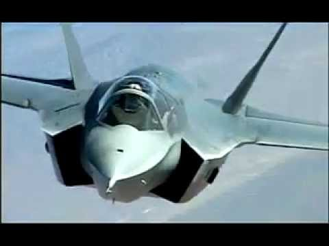F-35A Lightning II (CTOL) 1st flight video - vertical landing, takeoff, hovering and flight