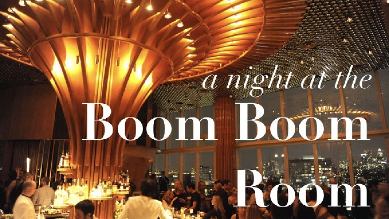 The Boom Boom Room NYC - YouTube