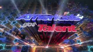 Laurent Piron - Rainball act on America's Got Talent 2018 - Sponge act