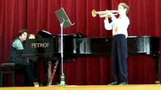 Anonym 17 st.  Alla Tedesca - Pavel Tomáš - Trumpet