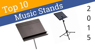 10 Best Music Stands 2015