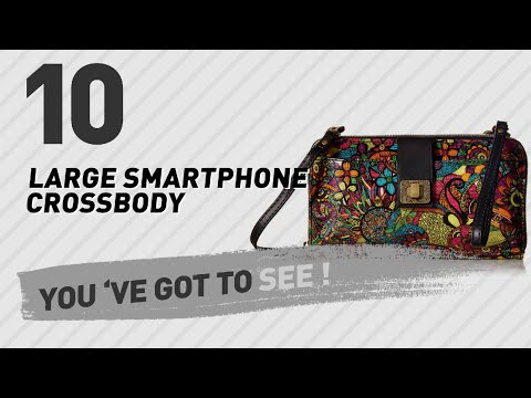 Large Smartphone Crossbody Handbag // The Most Popular 2017