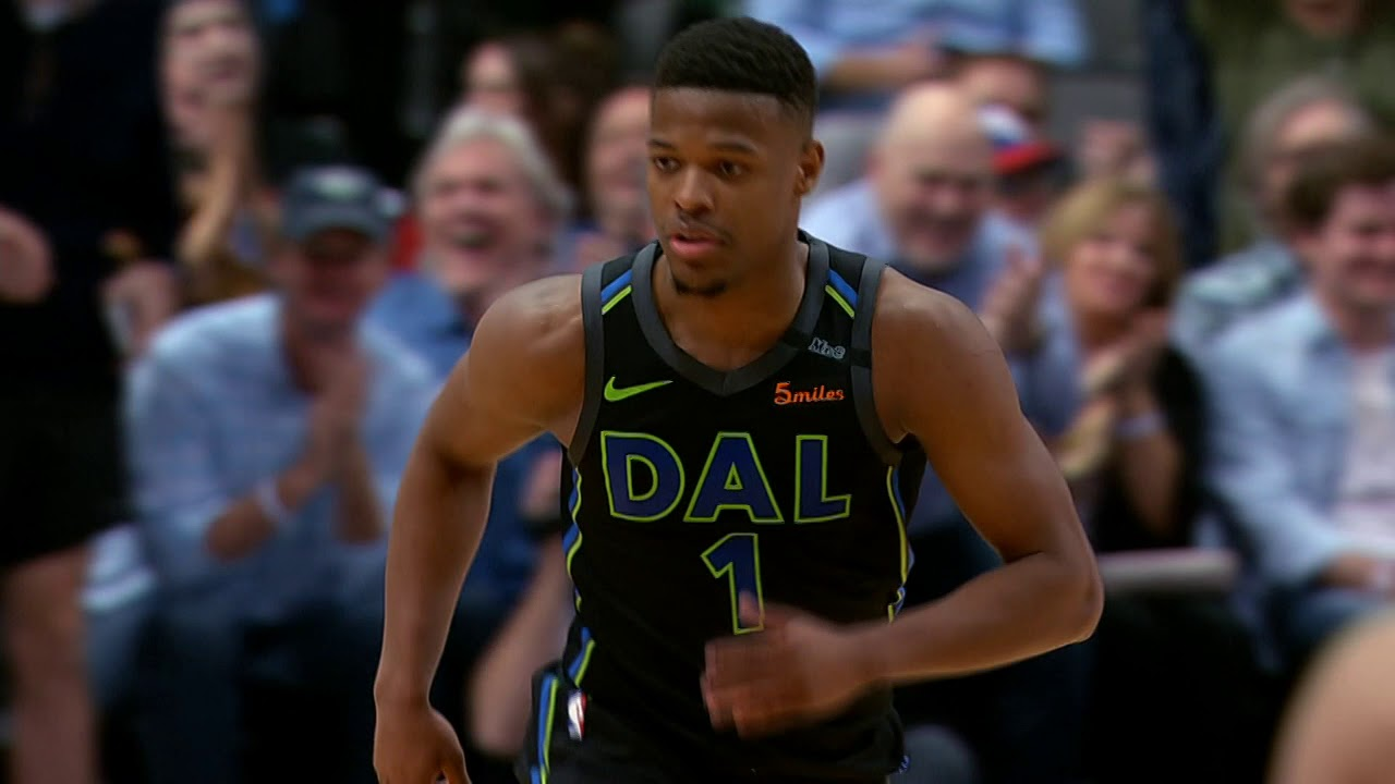 fd48a2e6f84 Dennis Smith Jr. Bounces It TO HIMSELF And Throws It Down! - YouTube