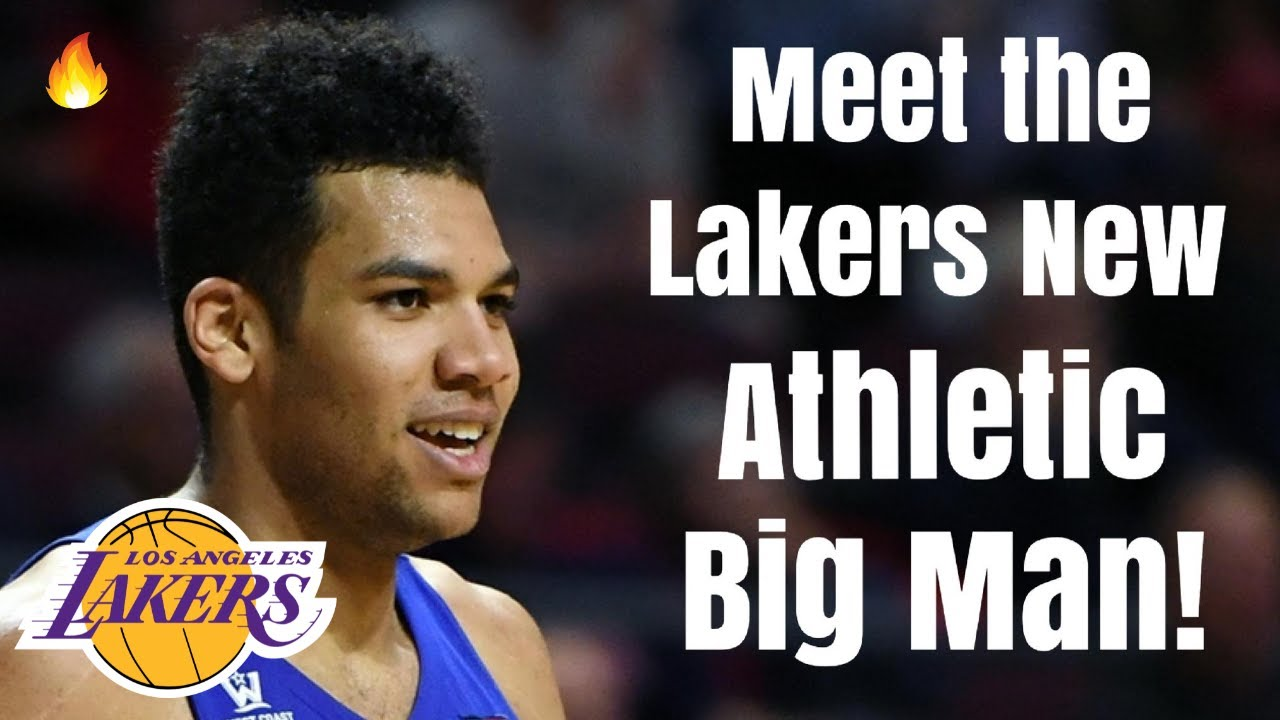 Los Angeles Lakers NEW ATHLETIC Big Man Signing | Replacement for Montrezl Harrell For LeBron James?