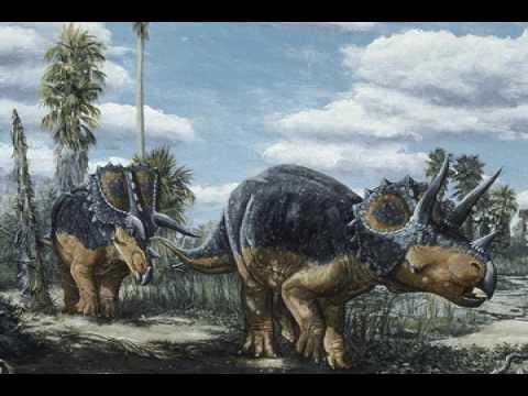 DINOSAURS BATTLE ADVENTURE ATTACK! Dinosaur Toys ... |Triceratops Dinosaur