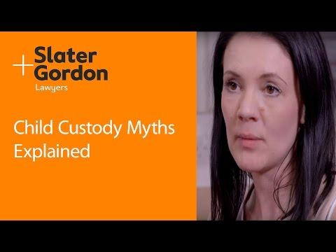 Child Custody Myths Explained