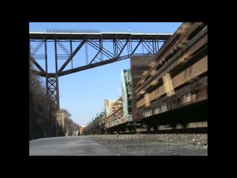 Freight trains in New York State