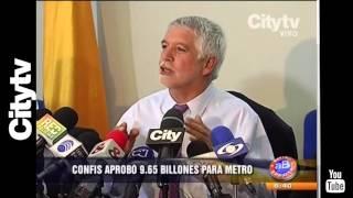Citytv: Confis aprobó 9.6 billones para el metro en Bogotá