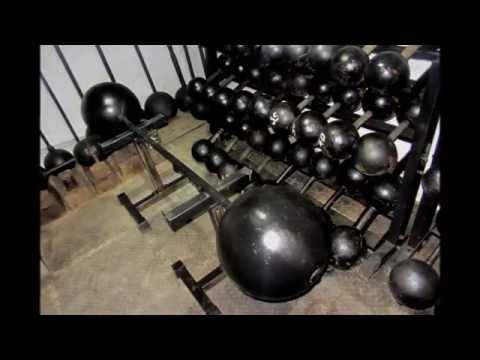 Globe Barbell Inch Globe Dumbbell Vintage Strongman Museum in England