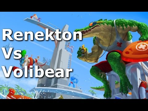 Renekton Vs Volibear Top Lane Commentary - Season 6 - League of Legends