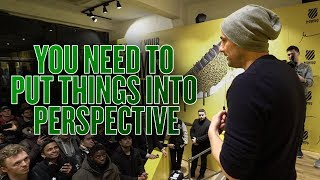 Be Willing to Give Up Your 20s | Q&A at the K-Swiss Pop Up in London
