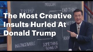 The Most Creative Insults Hurled At Donald Trump