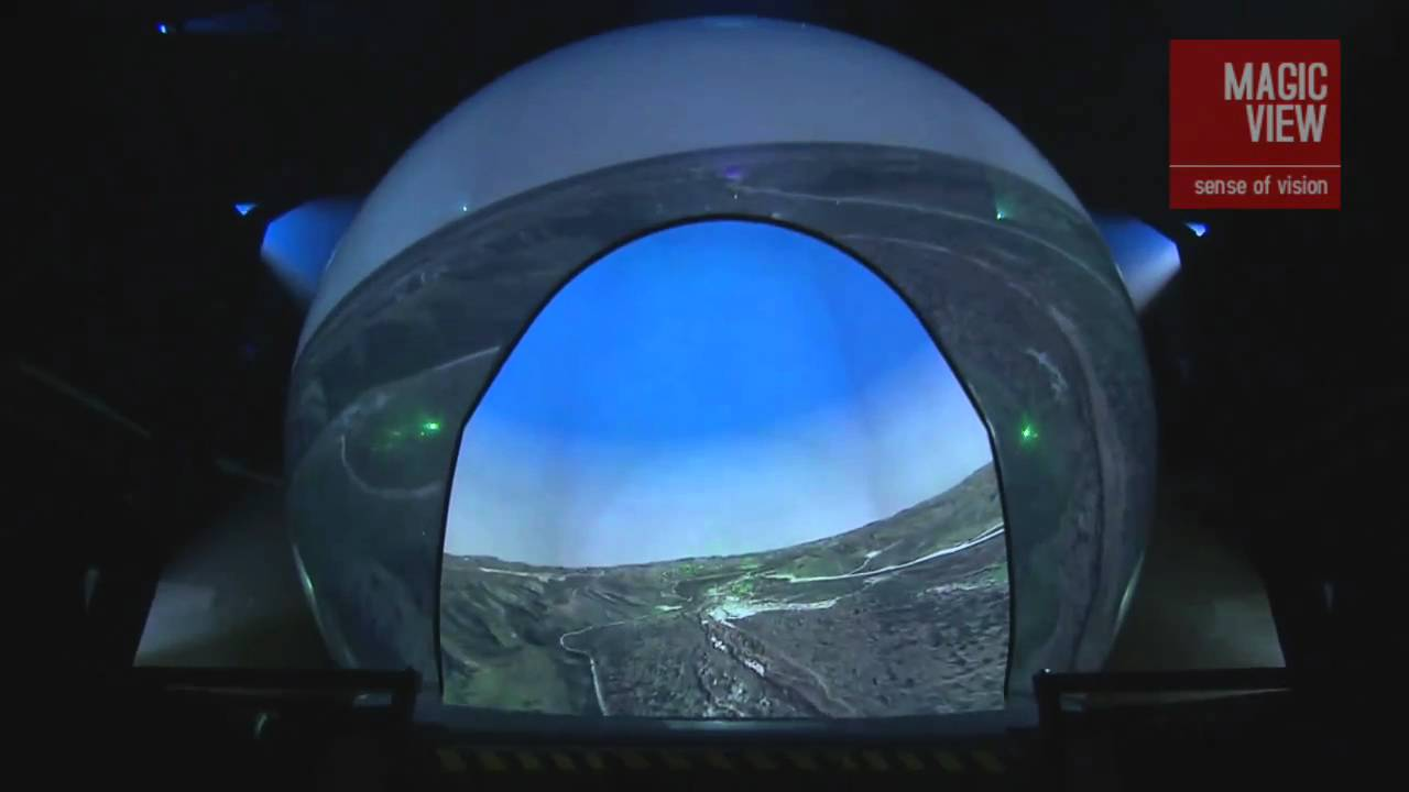 Rp 360 Flight Simulation Dome Youtube