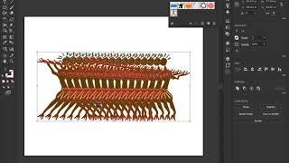 Adobe Illustrator CC 2018 - Création d'une Animation avec les Interpolations de déformation de la Marionnette et de l'Outil de dégradé (en anglais)