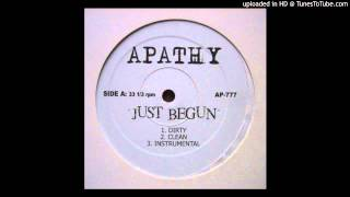Apathy - Just Begun