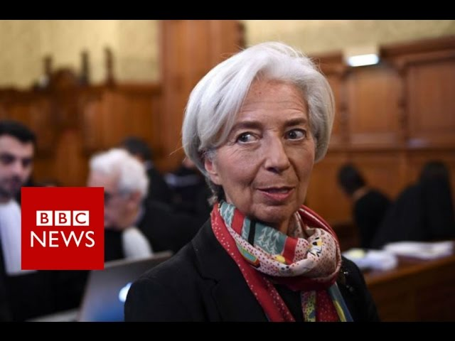Christine Lagarde: IMF chief convicted over payout - BBC News