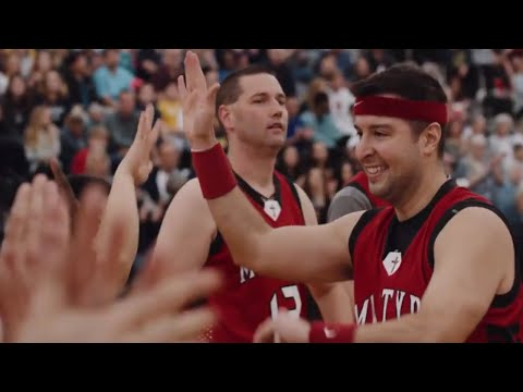 Priests vs Seminarians Bball Game Highlight video
