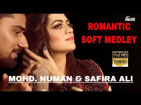 ROMANTIC SOFT MEDLEY - MOHD  NUMAN & SAFIRA ALI - HI-TECH PAKISTANI