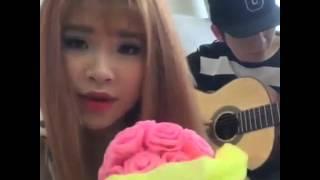 Yeu Lai Tu Dau (Cover) - Khoi My Ft. Guitar Kelvin Khanh (Hat Live Len Facebook Live Stream) 23/4/16