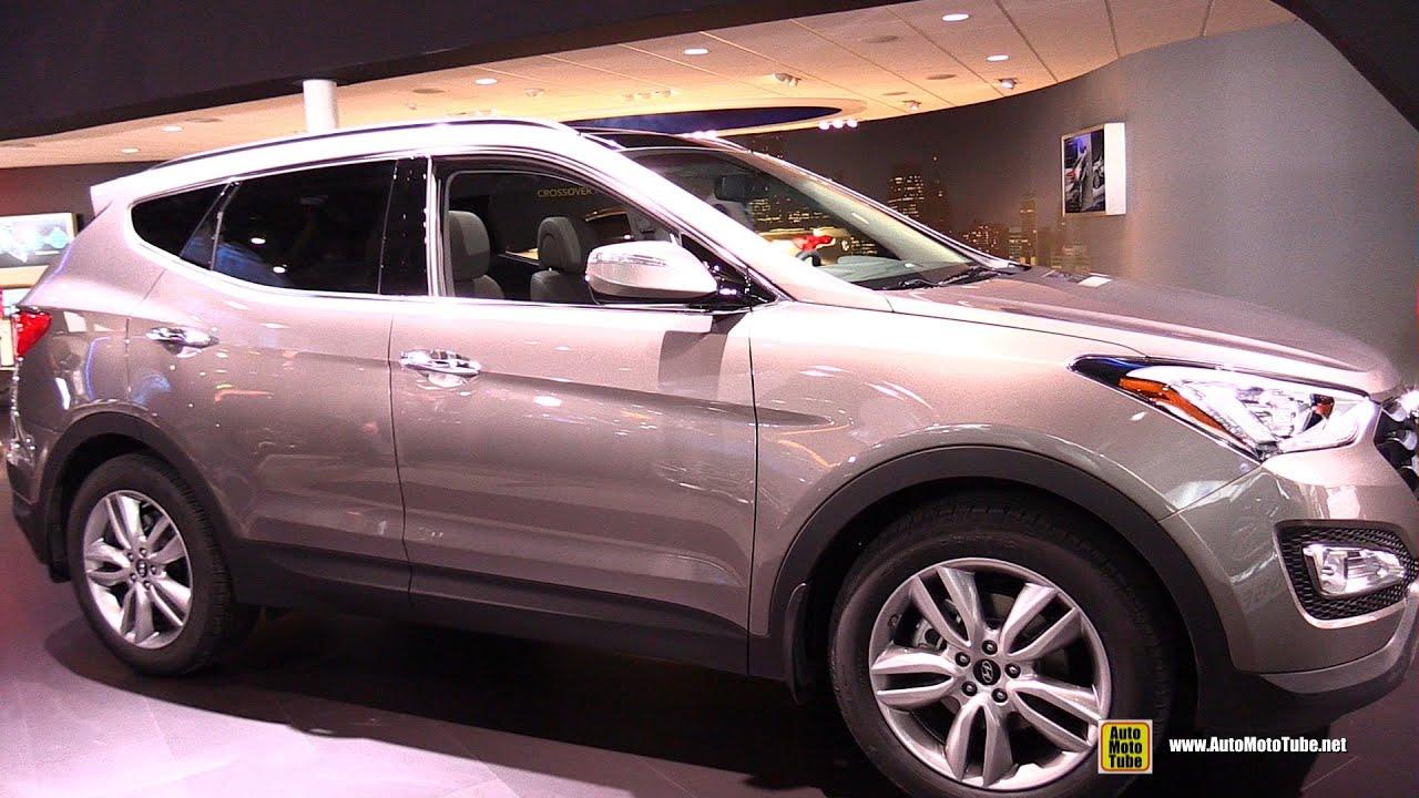2015 Hyundai Santa Fe Sport 2 0t Ultimate Exterior Interior Walkaround 2015 Detroit Auto