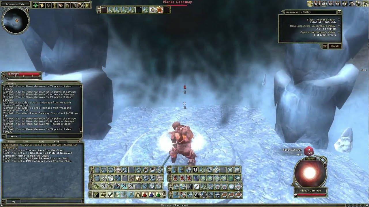 DDO - DPS Challenge Warforged Barbarian