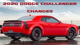Here is whats new for the 2020 Dodge Challenger!