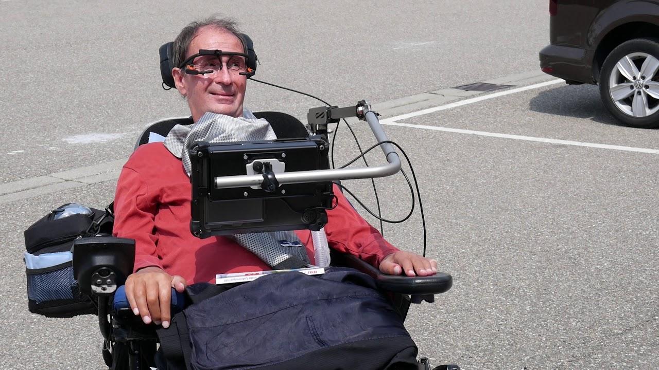 video MyEcc Pupil – Augensteuerung für den Rollstuhl