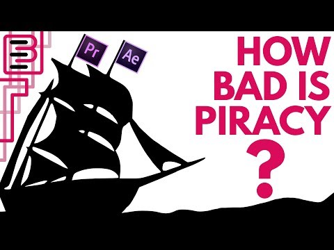 Why Companies Might Let You PIRATE Software